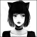 Аватар Темноволосая девушка с ушками