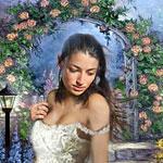 Аватар Девушка в саду
