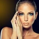 Аватар Красивая девушка с голубыми глазами