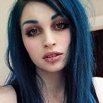 Аватар Девушка с синими волосами. Rachael Fae