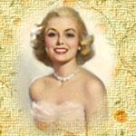 Аватар Улыбающаяся девушка блондинка
