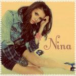 Аватар Nina Dobrev / Нина Добрев на желтом фоне (Nina / Нина)